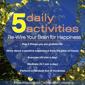 5 Daily Activities to Make Happy a Habit